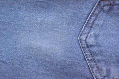 jeanstextuur voor achtergrond Jeans abstracte stijl dicht royalty-vrije stock afbeeldingen