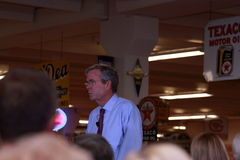 Jeb Bush speaks in Ankeny, Iowa, on August 13, 2015 Royalty Free Stock Photography
