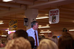 Former Florida Governor Jeb Bush speaks in Ankeny, Iowa, on August 13, 2015 Stock Image