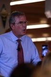 Jeb Bush spreekt in Ankeny, Iowa, op 13 Augustus, 2015 Stock Afbeeldingen