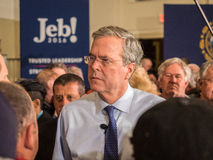 Jeb Bush Town Hall Meeting Stockfotografie