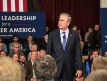 Jeb Bush Town Hall Meeting Royalty Free Stock Photography