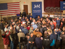 Jeb Bush Town Hall Meeting Stock Images