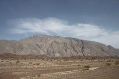 jebel Оман hafeet Стоковое Изображение RF