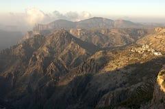 Jebel Akhdar Berge, Sultanat von Oman Lizenzfreie Stockbilder