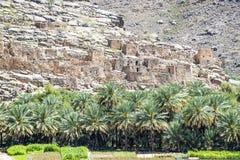 Jebel Akhdar. Image of ruins on Jebel Akhdar in Oman stock photo