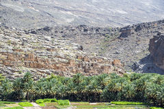 Jebel Akhdar. Image of ruins on Jebel Akhdar in Oman royalty free stock images