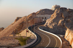 Jebel Hafeer Stock Photo