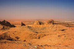 Jebel Hafeet in Al Ain royalty-vrije stock foto