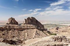 Jebel Hafeet góry w Al Ain, UAE Zdjęcie Stock