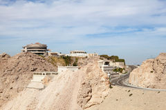Jebel Hafeet mountain in Al Ain Royalty Free Stock Photography