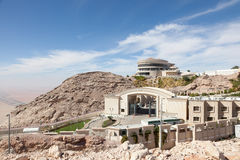 Jebel Hafeet mountains in Al Ain Stock Image