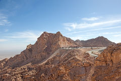 Jebel Hafeet mountains in Al Ain, UAE Stock Images