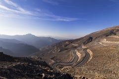 Jebel Jais, Al Khaima Ras Стоковая Фотография RF