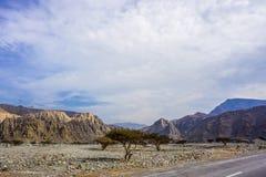 Jebel Jais Mountain View photos libres de droits