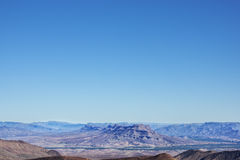 Jebel Kissane Mountains and Draa Valley. Royalty Free Stock Photo