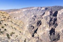 Jebel oszusci - sułtanat Oman obrazy stock