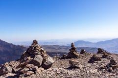 Jebel oszusci - sułtanat Oman zdjęcia royalty free