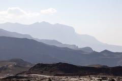 Jebel oszustów góry w Oman Zdjęcie Royalty Free