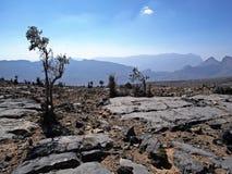Jebel Shams. Al Hajar mountains, Oman Stock Image