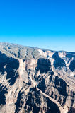 Jebel Shams, tallest mountain of Middle-East, Oman Royalty Free Stock Photo