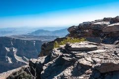 Jebela Shams Canyon of Middle-East, Oman Royalty Free Stock Image