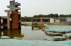 Jebon Nagor, Chuadanga, meherpur, Mujibnator-Park stockbilder