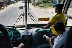 Jechać Ceres liniowa autobus Dumaguete od Bayawan zdjęcie stock