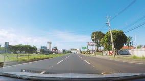 Jechać na PR-317 autostradzie znać jako Rodovia da Moda w Maringa mieście zdjęcie wideo