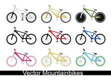 jechać na rowerze górę Obraz Stock