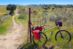 Jechać na rowerze przy świętego James sposobem wewnątrz przez De Los angeles Plata Obraz Stock