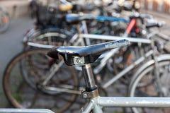 jechać na rowerze starego Zdjęcia Royalty Free