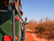 Jechać na safari przez oszałamiająco południe - afrykanina krajobraz Fotografia Stock