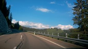 Jechać W dół drogę w Szwajcaria zbiory