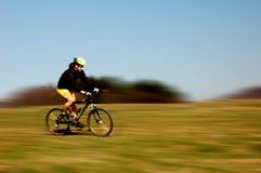 Jechać na rowerze obraz royalty free
