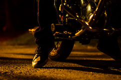 Jechać na rowerze Zdjęcia Royalty Free