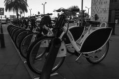 jechać na rowerze miasto zdjęcia royalty free