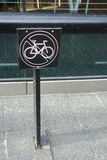 jechać na rowerze nie Fotografia Royalty Free