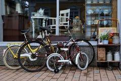 jechać na rowerze starego Zdjęcie Stock