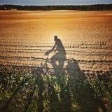 Jechać na rowerze w Polska Obraz Stock