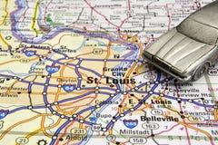 Jechać w St Louis Zdjęcie Stock