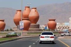 Jechać w UAE - Dibba garnka rondo Zdjęcie Stock
