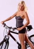 jedź fizycznej fitness Obraz Royalty Free