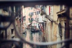 jedź gondoli Wenecji Zdjęcia Royalty Free