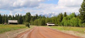 jedź na obszarach wiejskich zdjęcie stock