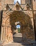 Jedburgh修道院,苏格兰 免版税库存图片