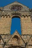 Jedburgh Abbey Arkivfoton