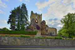 Jedburgh Abbey, in the background Scottish Borders Stock Photo
