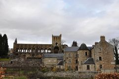 Jedburgh Abbey Ruins Photos stock