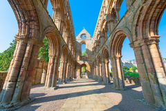 Jedburgh Abbey Royalty Free Stock Photo